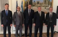 Посол Дильёр Хакимов провел переговоры в люксембургском филиале «Газпромбанка»