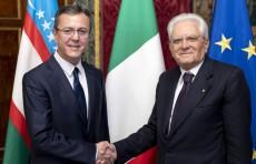 Посол Узбекистана вручил верительные грамоты Президенту Италии
