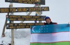 Узбекистанец покорил Килиманджаро
