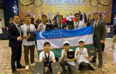 Юные узбекистанцы завоевали сразу 7 медалей на Международной олимпиаде по робототехнике