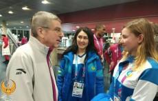 Делегация Узбекистана встретилась с президентом МОК Томасом Бахом