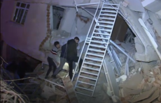 Мощное землетрясение произошло на востоке Турции