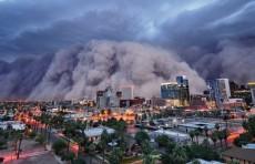 Песчаная буря покрыла целый город в США