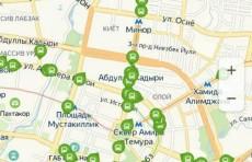 Яндекс начал показывать движение автобусов в Ташкенте