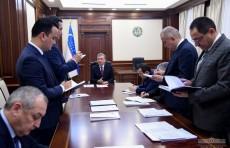 Президент обсудил вопросы организации Ташкентского международного инвестиционного форума