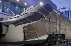 """Новый высокоскоростной поезд """"Talgo"""" доставлен в Ташкент"""