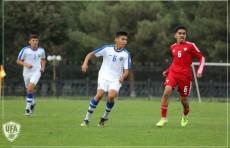 Футбол: Юношеская сборная Узбекистана в товарищеском матче обыграла ОАЭ