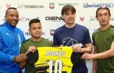 Одна из легенд мирового футбола - Фернандо Морьентес посетил Ташкент