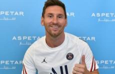 Лионель Месси официально стал игроком «Пари Сен-Жермен»
