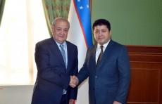 Министр иностранных дел принял нового посла Афганистана