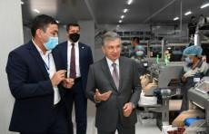 Президент ознакомился с деятельностью совместного предприятия «Уз-Сеганг»