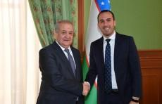 Абдулазиз Камилов принял заместителя министра иностранных дел Италии