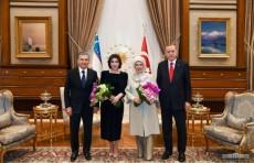 Состоялся прием по случаю визита Президента Узбекистана в Турцию
