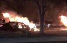 Страшное ДТП в Ташкенте: автомобили загорелись, в то время как там еще были пассажиры