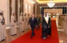 Президент Шавкат Мирзиёев прибыл в Абу-Даби