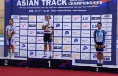 Велогонщица Ольга Забелинская стала чемпионкой Азии