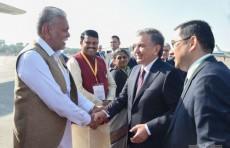 Президент Шавкат Мирзиёев завершил свой рабочий визит в Индию
