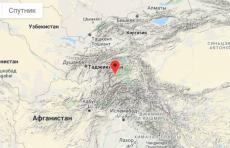 Узбекистанцы почувствовали отголоски таджикского землетрясения