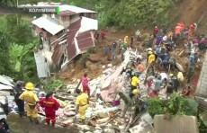Ночной оползень в Колумбии унес жизни более десятка человек (Видео)