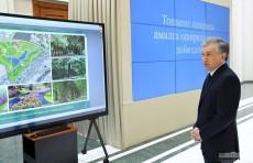 В Ташкентской области построят парк площадью 155 гектаров