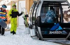 Началась вторая фаза строительства горнолыжного курорта «Amirsoy»