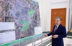 Шавкат Мирзиёев одобрил предложения об изменении границ Ташкента