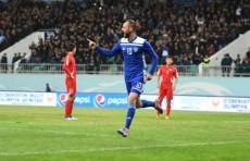Сборная Узбекистана по футболу одержала победу над КНДР