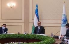 Абдулла Арипов принимает участие на заседании СГП ШОС