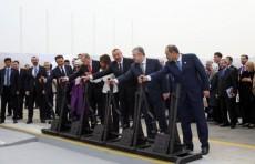 А. Арипов принял участие в открытии маршрута «Баку – Тбилиси – Карс»