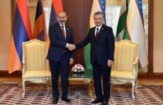 Президент Узбекистана принял Премьер-министра Армении