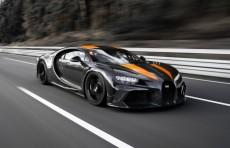 Bugatti Chiron установил мировой рекорд скорости