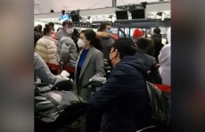Эвакуация началась: UZREPORT TV предоставил кадры из Пекинского аэропорта