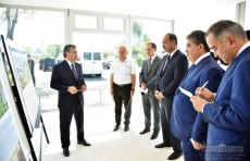 Первая очередь надземного метро Ташкента будет введена в строй к Наврузу
