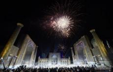 Шавкат Мирзиёев принял участие в церемонии открытия фестиваля «Шарк тароналари»
