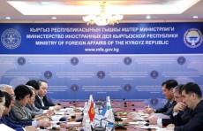 Заместители глав МИД Узбекистана и Кыргызстана провели переговоры