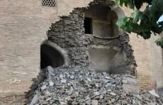 В Бухаре обрушилась часть стены медресе «Абдуллахон», построенного в XVI веке