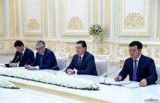 Президент Шавкат Мирзиёев принял Премьер-министра Казахстана