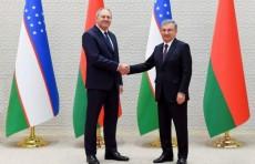 Шавкат Мирзиёев принял Премьер-министра Республики Беларусь