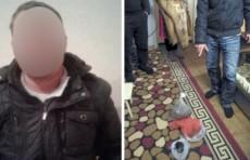 Житель Алмалыка задержан за хранение 1,4 кг марихуаны дома