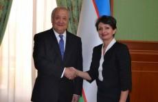 Министр иностранных дел принял нового Посла Франции